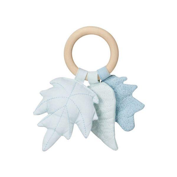 Anello sensoriale foglie azzurro CamCam Copenhagen