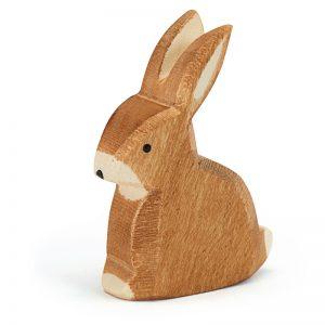 Figura legno Coniglio seduto - Ostheimer