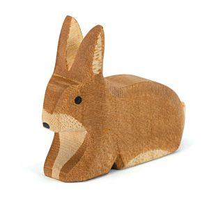 Figura legno Coniglio sdraiato - Ostheimer