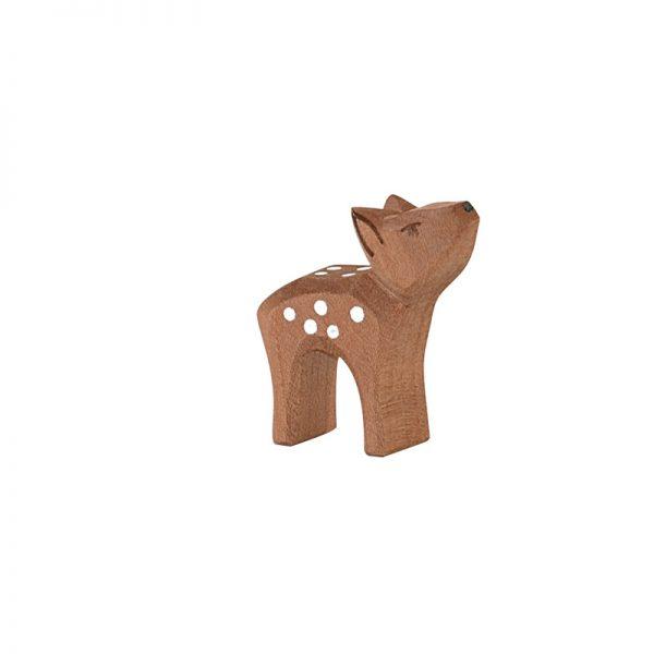 Figura legno Cerbiatto testa su - Ostheimer
