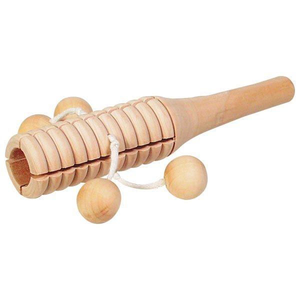 Sonaglio di legno a 4 palline Goki