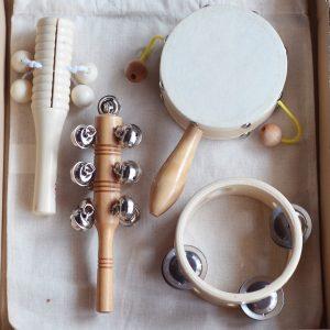 Il mio primo set di strumenti musicali