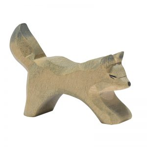 Figura legno lupo piccolo - Ostheimer