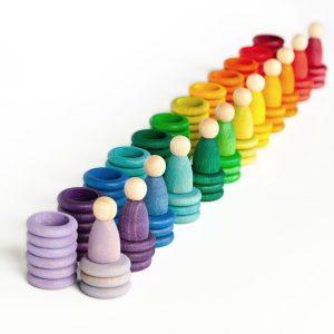 Set Nins® - anelli - monete Carla Grapat