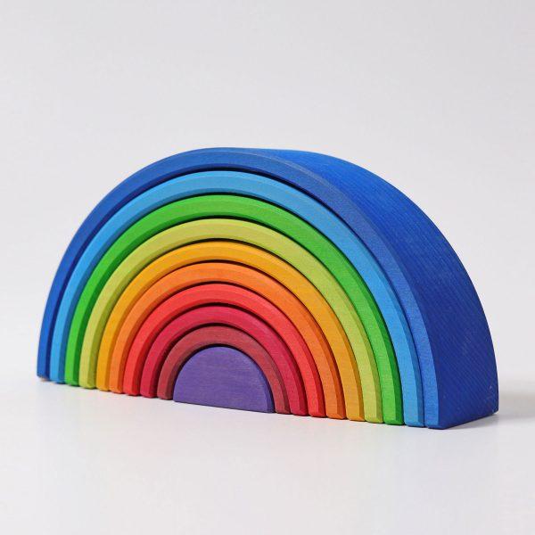 Arcobaleno steineriano Grimm's - 10 pezzi colori primari