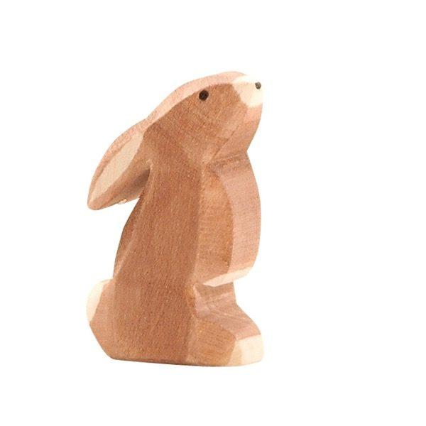 Figura legno Coniglio orecchie basse - Ostheimer