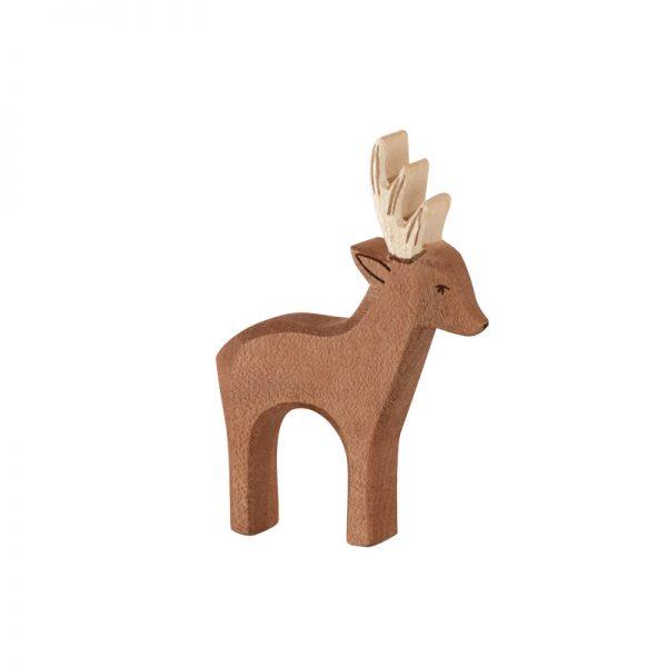 Figura legno papà capriolo - Ostheimer