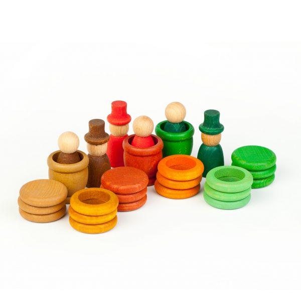 Nins® - Autunno - anelli monete e ciotole Grapat
