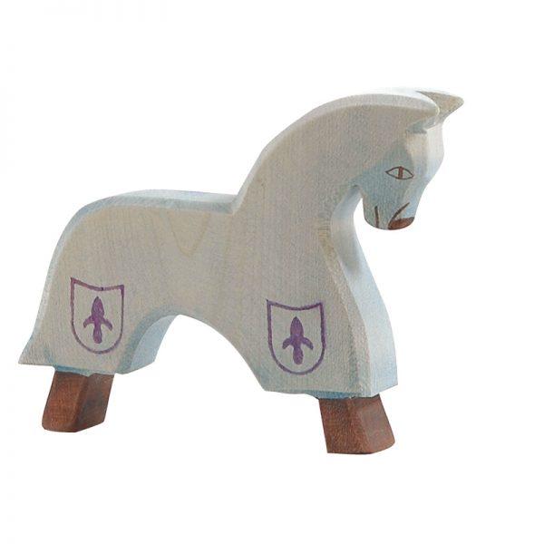 Figura legno Cavallo per Cavaliere del Giglio - Ostheimer