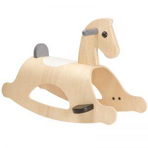 Cavallo a dondolo legno Palomino Mono Plan Toys