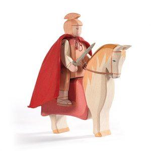 Set figure legno San Martino a cavallo - Ostheimer