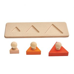 Puzzle Montessori 3 Triangoli Plan Toys