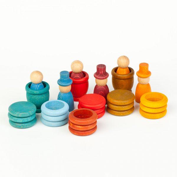 Nins® - Estate - anelli monete e ciotole Grapat
