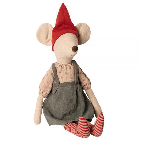 14-9740-00-Pupazzo-elfo-di-Natale-Maxi-Mouse-girl-Maileg