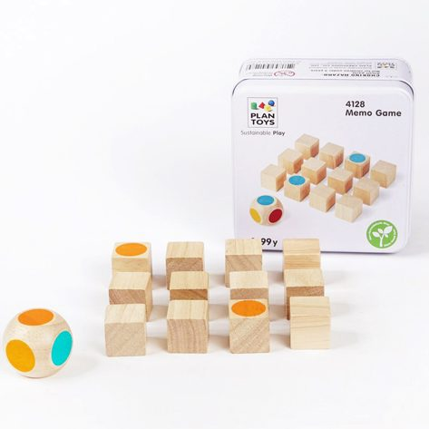 Mini game - Gioco memory con dado Plan Toys