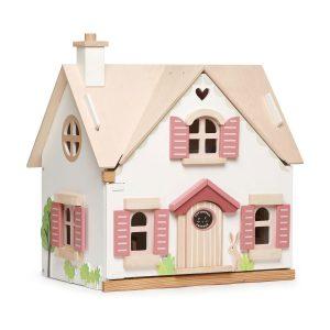 Casa delle bambole con arredi Cottontail Cottage Tender Leaf