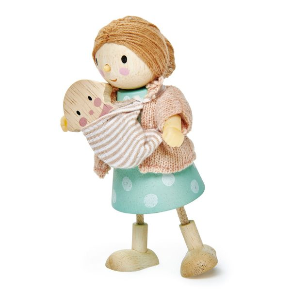 Mamma Mrs Goodwood con bambino Tender Leaf