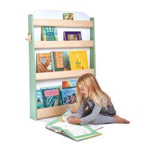 Libreria frontale Montessori Forest Tender Leaf