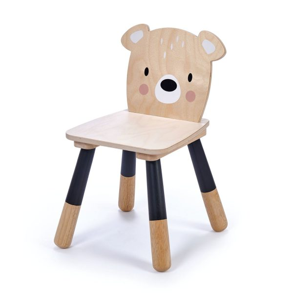 Sedia bambini orso Forest Tender Leaf