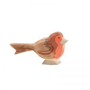 Figura legno Pettirosso - Ostheimer