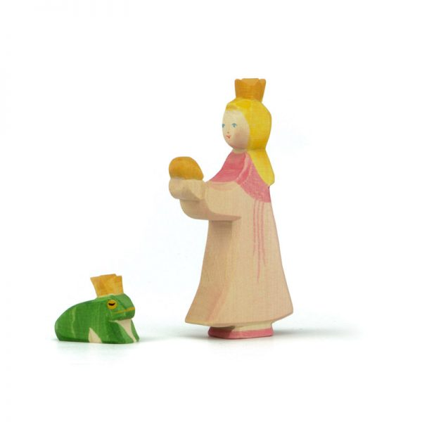 Set figure legno Principessa e ranocchio - Ostheimer