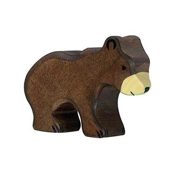 Figura legno piccolo Orso - Holztiger