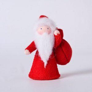 Figura Waldorf Baboo Natale Ambro-dolls