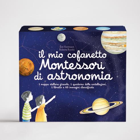 Il mio cofanetto Montessori di astronomia Ippocampo Edizioni