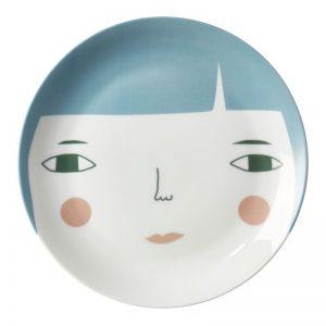 Piatto porcellana Betty Donna Wilson