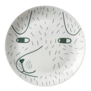 Piatto porcellana Scamp Donna Wilson