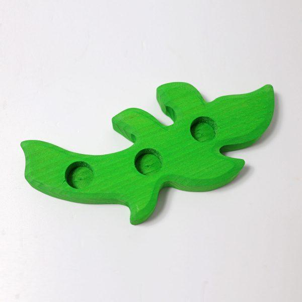 Candeliere foglia verde bosco Grimm's