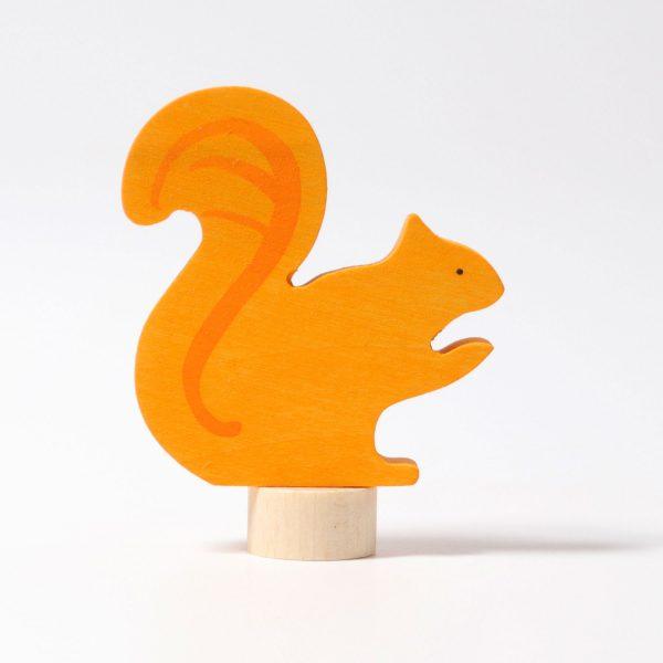 Figura decorativa legno scoiattolo Grimm's