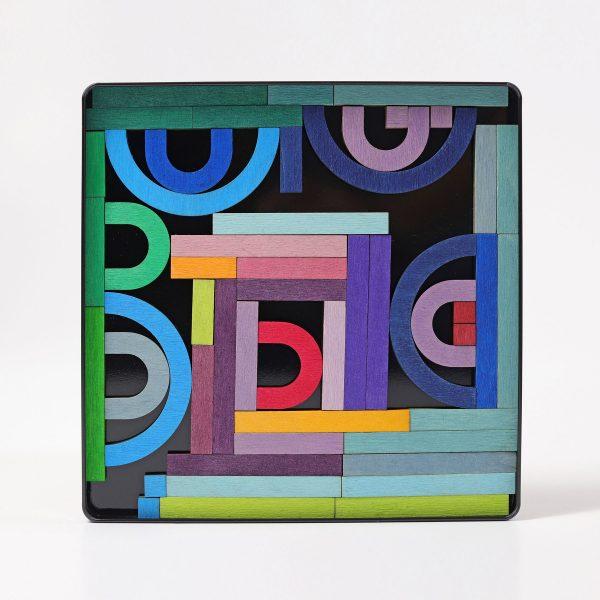 Puzzle magnetico Letter Shapes Grimm's