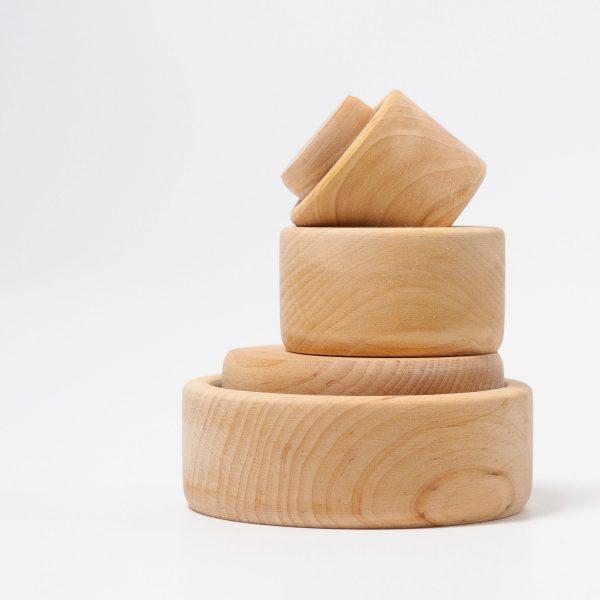 Set impilo ciotole legno Grimm's
