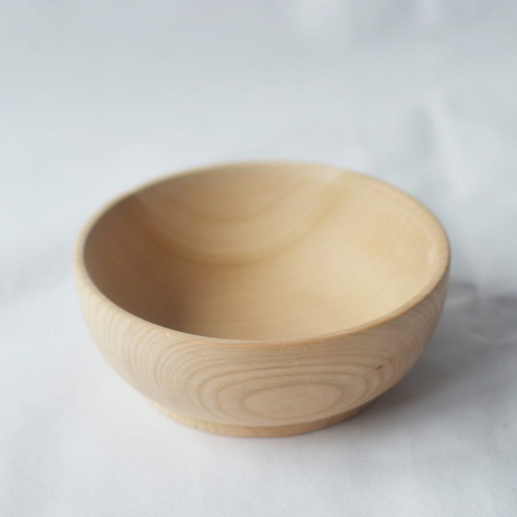 Ciotola rotonda legno faggio naturale 16 cm