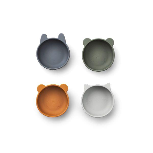 Set-4-ciotole-silicone-Iggy-blue-mix-LIEWOOD