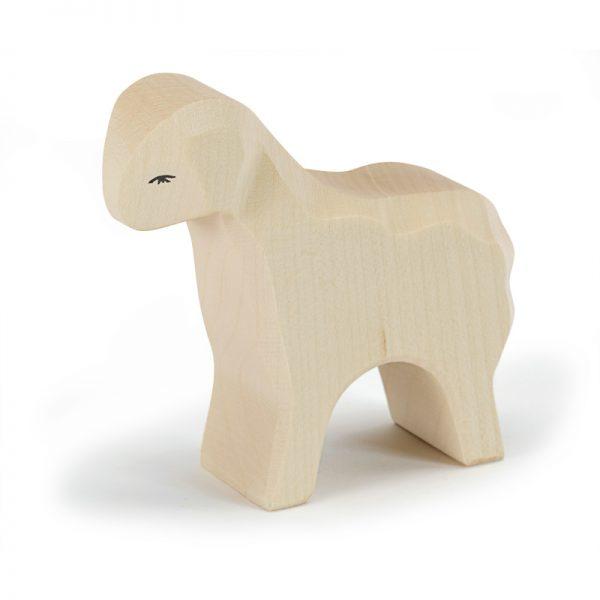 Figura legno pecora bianca - Ostheimer