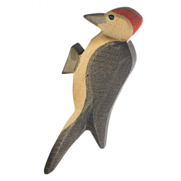 Figura legno uccellino Picchio - Ostheimer