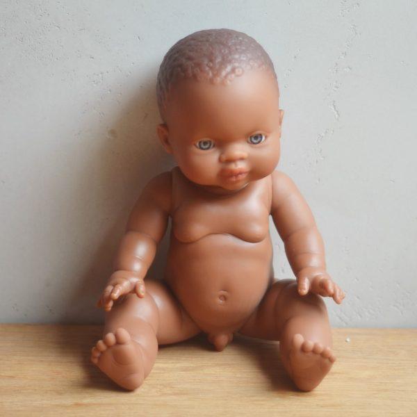 Bambola africana maschio Paola Reina