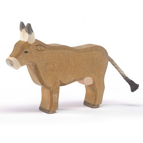 Figura legno mucca alpeggio - Ostheimer
