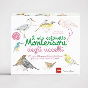 Il mio cofanetto Montessori degli uccelli Ippocampo Edizioni