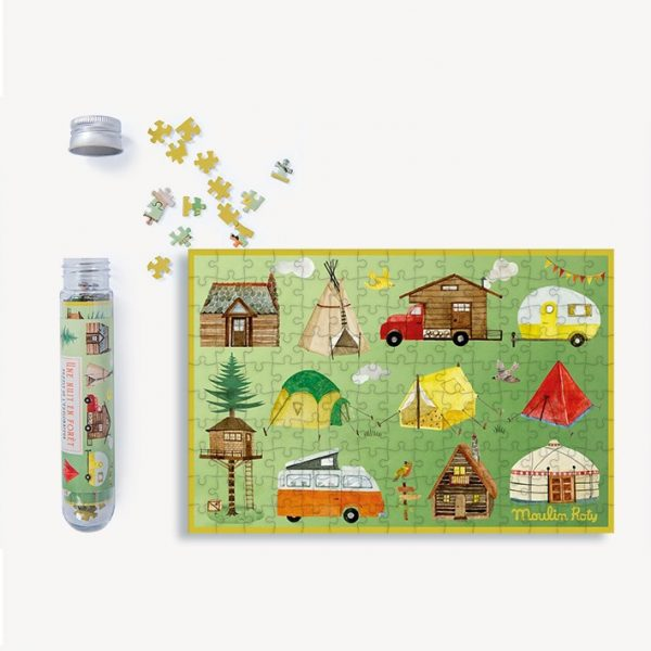Mini puzzle Dentro la foresta Le Jardin Moulin Roty