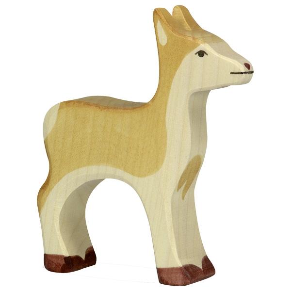 Figura legno mamma Cervo - Holztiger