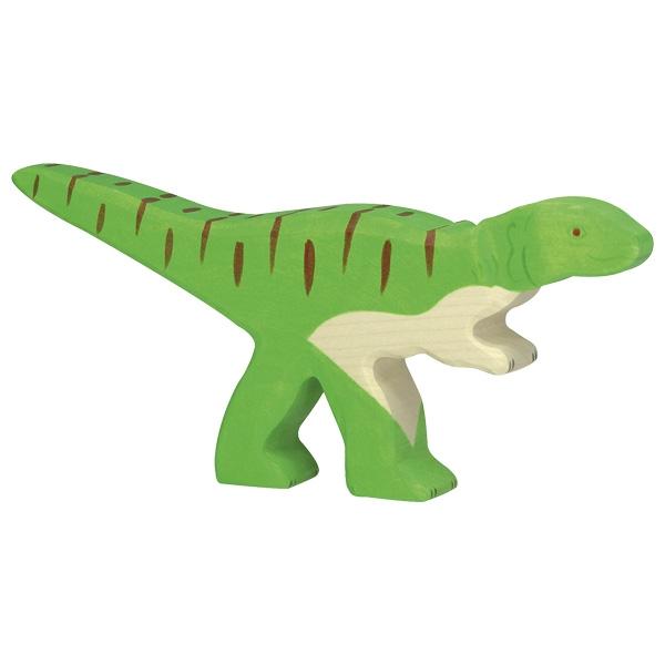 Figura legno Dinosauro Allosauro - Holztiger