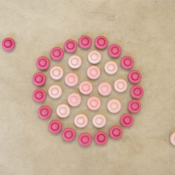 Mandala pink flowers Waldorf Grapat