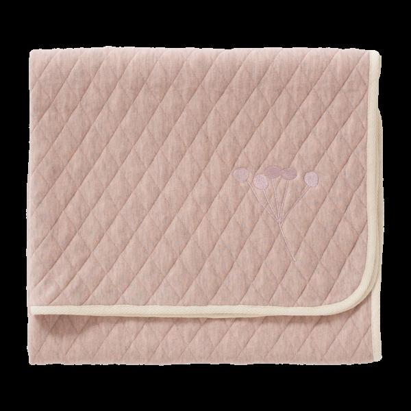 Coperta trapuntata cotone bio Mellow Rose Fresk