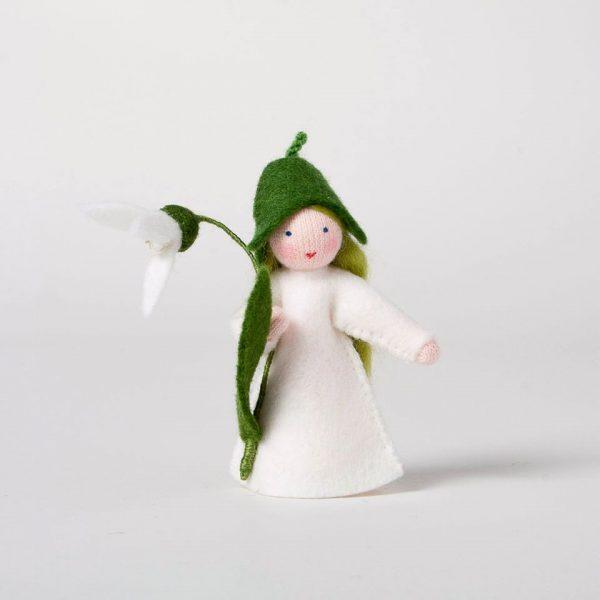 Figura Waldorf Fata Snowdrop Ambro-dolls