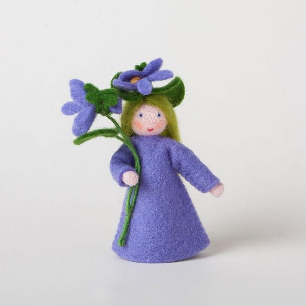 Figura Waldorf Fata Violet Ambro-dolls