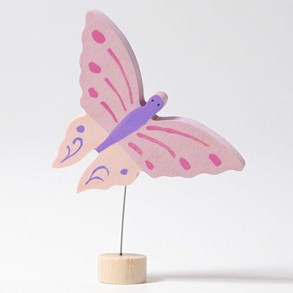 Figura decorativa legno farfalla Grimm's