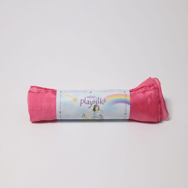 Playsilks mini Telo in seta Rosa 52 x 52 cm Sarah's Silks